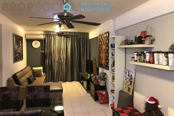 For Sale Condominium at Sering Akasia, Batu 9 Cheras Freehold Semi Furnished 3R/2B 418k