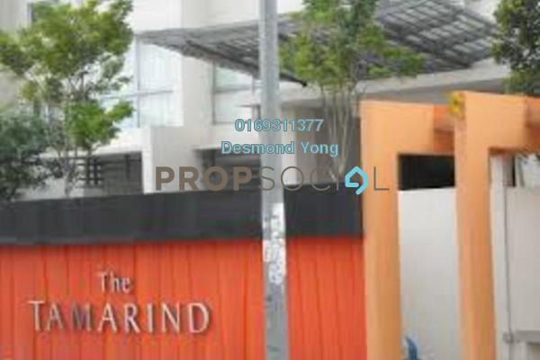 For Rent Condominium at The Tamarind, Sentul Freehold Fully Furnished 3R/2B 2.6k