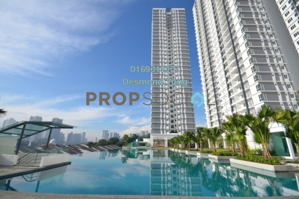 For Rent Condominium at Desa Green Serviced Apartment, Taman Desa Freehold Fully Furnished 1R/1B 1.6k