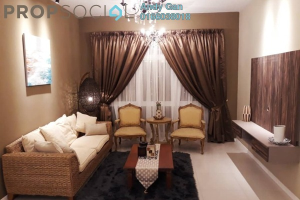 For Rent Condominium at EcoSky, Jalan Ipoh Freehold Fully Furnished 2R/2B 2.6k