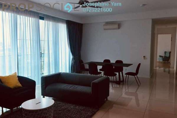 For Rent Condominium at The Treez, Bukit Jalil Freehold Fully Furnished 3R/3B 3.8k