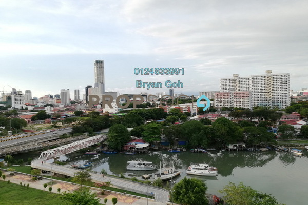 For Rent Apartment at Desa Pinang 2, Jelutong Freehold Semi Furnished 3R/1B 800translationmissing:en.pricing.unit