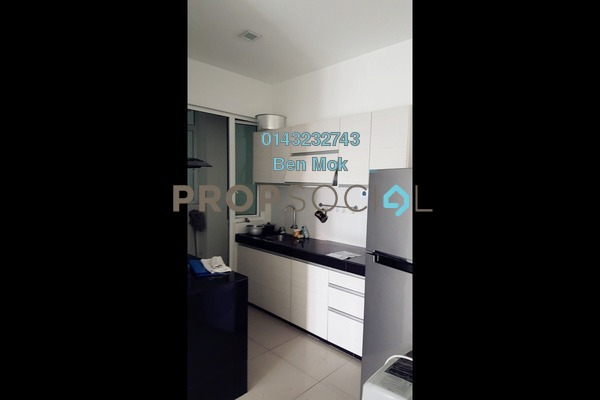 For Sale Condominium at Scenaria, Segambut Freehold Semi Furnished 3R/2B 628k