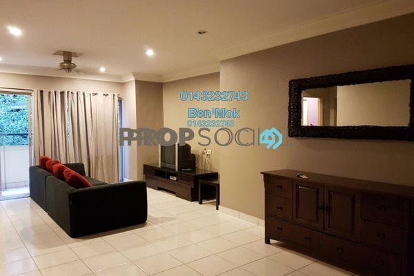 For Sale Condominium at Perdana Emerald, Damansara Perdana Freehold Semi Furnished 3R/2B 580k