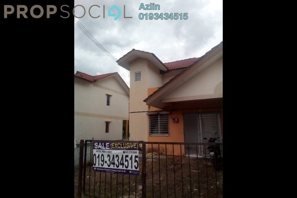 For Sale Terrace at Taman Serendah Makmur, Serendah Freehold Unfurnished 3R/2B 215k