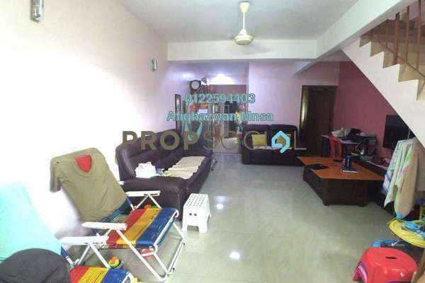 For Sale Terrace at Taman Sri Gombak, Batu Caves Freehold Semi Furnished 3R/2B 420k