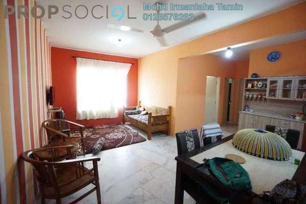 For Sale Apartment at Residensi Warnasari, Puncak Alam Leasehold Semi Furnished 3R/2B 160k