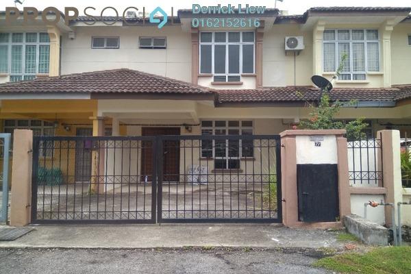 For Rent Link at Mahkota Walk, Bandar Mahkota Cheras Freehold Unfurnished 4R/3B 1.1k