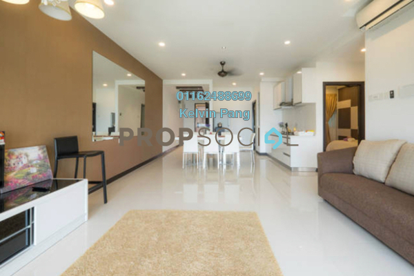 For Rent Condominium at Vertiq, Gelugor Freehold Fully Furnished 3R/2B 2.8k