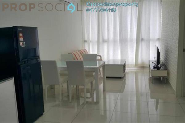 For Rent Serviced Residence at Eco Business Park I, Johor Bahru Freehold Fully Furnished 2R/1B 2.28k