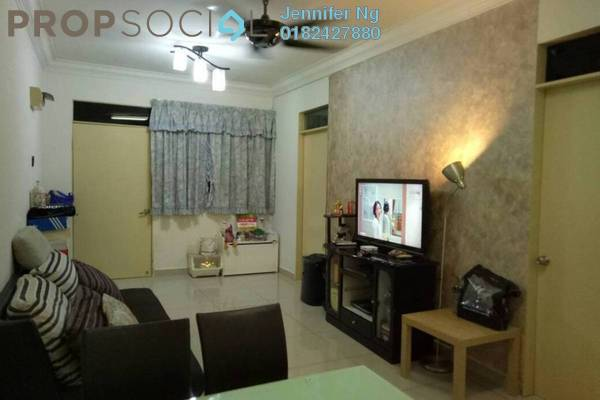 For Sale Apartment at Mentari Court 1, Bandar Sunway Freehold Semi Furnished 3R/2B 248k