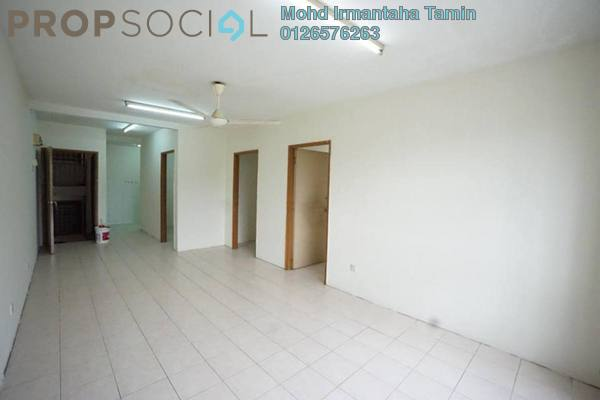 For Sale Apartment at Section 7, Shah Alam Leasehold Unfurnished 3R/2B 230k