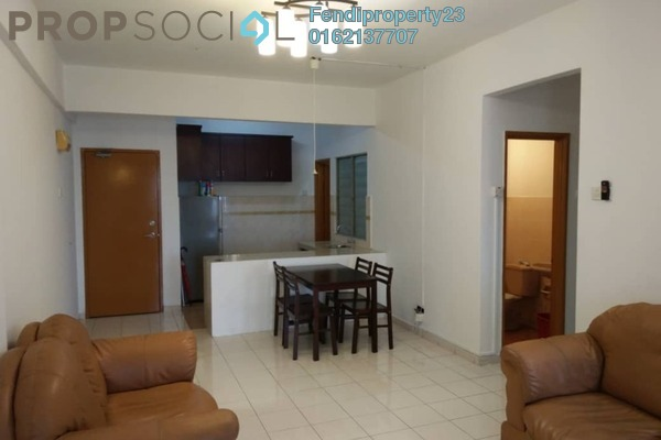 For Rent Condominium at Nilam Puri, Bandar Bukit Puchong Freehold Fully Furnished 3R/2B 1.3k