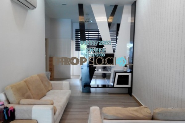 For Sale Terrace at Alam Nusantara, Setia Alam Freehold Fully Furnished 3R/2B 598k