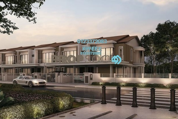For Sale Terrace at Ixora 2 Residences, Bandar Seri Coalfields Freehold Unfurnished 4R/4B 656k