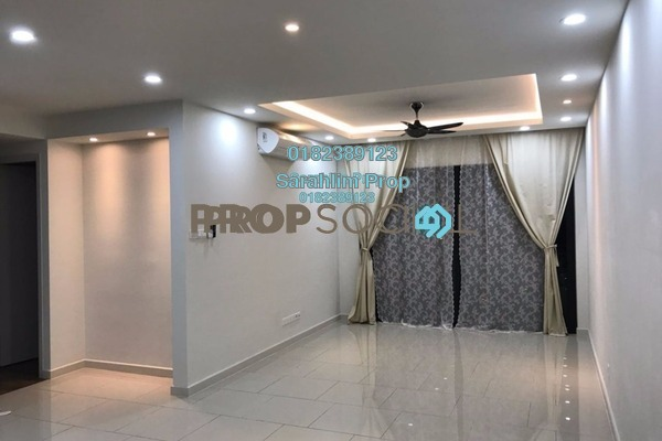 For Rent Condominium at The Reach @ Titiwangsa, Setapak Freehold Semi Furnished 3R/4B 2.8k