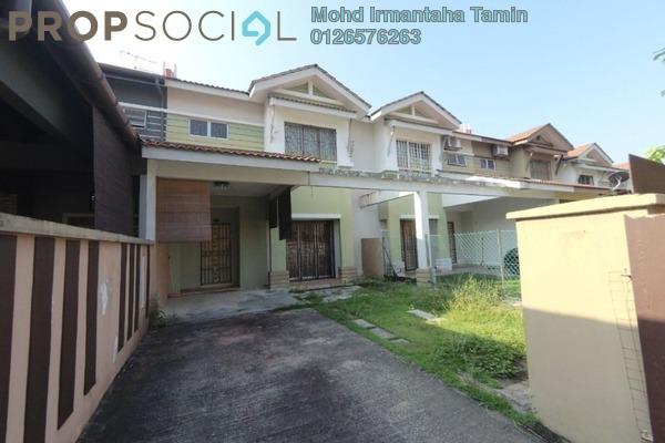 For Sale Terrace at Bandar Saujana Utama, Sungai Buloh Leasehold Semi Furnished 4R/3B 495k