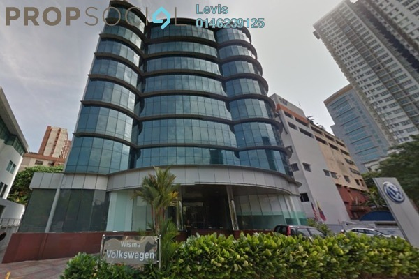 For Sale Office at Wisma Volkswagen, Bangsar Freehold Semi Furnished 0R/0B 55m
