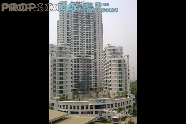 For Sale Condominium at The Oasis, Gelugor Leasehold Semi Furnished 3R/2B 730k