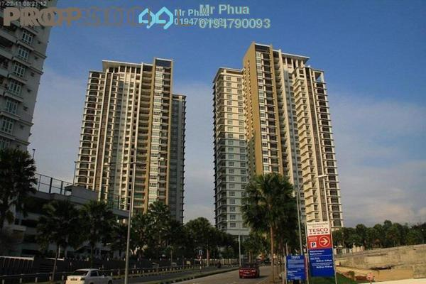 For Rent Apartment at Platino, Gelugor Freehold Fully Furnished 1R/1B 3.5k