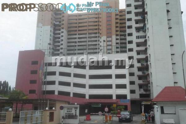 For Sale Apartment at Sinar Bukit Dumbar, Gelugor Freehold Semi Furnished 3R/2B 350k