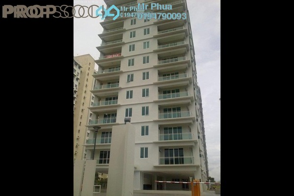 For Rent Apartment at The Uban Residence, Batu Uban Freehold Semi Furnished 4R/3B 2.2k