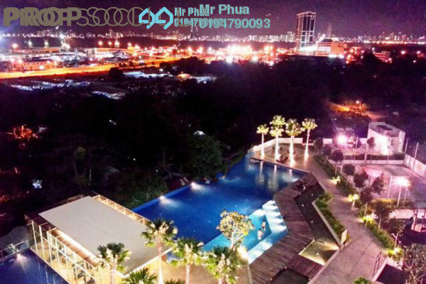 For Rent Condominium at Ocean View Residences, Butterworth Freehold Fully Furnished 3R/2B 1.6k