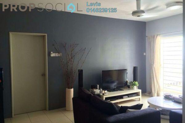 For Sale Condominium at Platinum Lake PV12, Setapak Freehold Semi Furnished 3R/2B 400k
