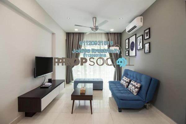 For Sale Condominium at Hijauan Saujana, Saujana Freehold Semi Furnished 1R/1B 368k