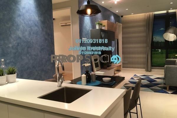 For Sale Condominium at Empire Subang, Subang Jaya Freehold Semi Furnished 3R/2B 620k