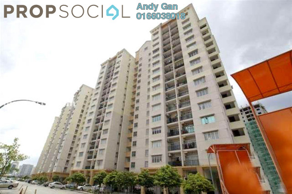 For Sale Condominium at Sri Pandan, Pandan Indah Freehold Semi Furnished 3R/2B 430k