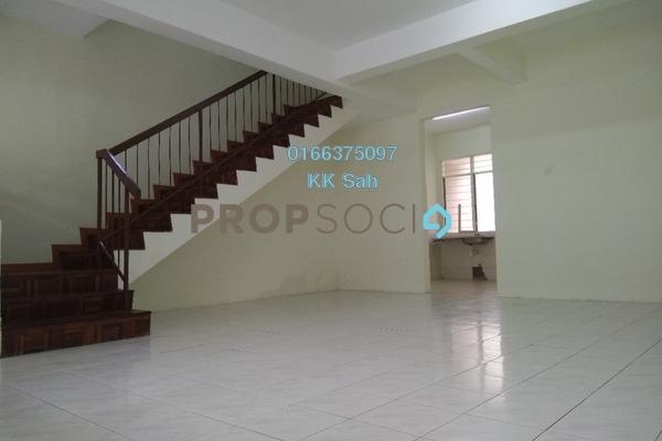 For Rent Terrace at Section 3, Bandar Mahkota Cheras Freehold Semi Furnished 4R/3B 1.1k