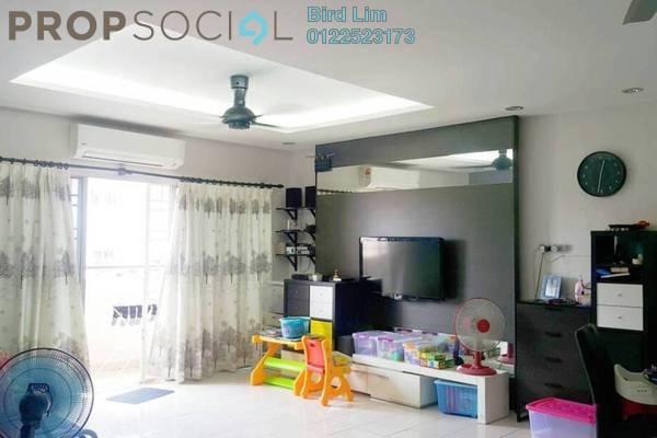 For Sale Apartment at Desa Saujana, Seri Kembangan Freehold Fully Furnished 3R/2B 318k