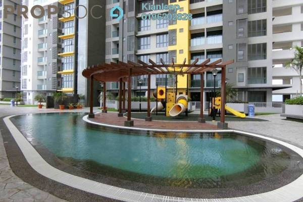 For Rent Condominium at Silk Sky, Balakong Freehold Unfurnished 3R/2B 1.1k