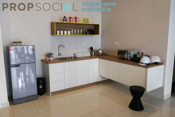 For Rent Condominium at Arte S, Bukit Gambier Freehold Semi Furnished 2R/2B 1.3k