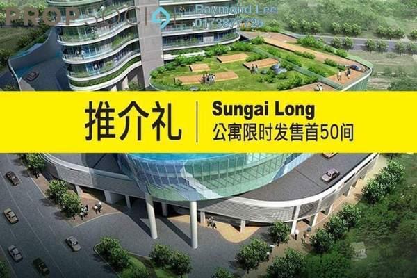 For Sale Condominium at Iris Residence, Bandar Sungai Long Freehold Unfurnished 3R/2B 450k