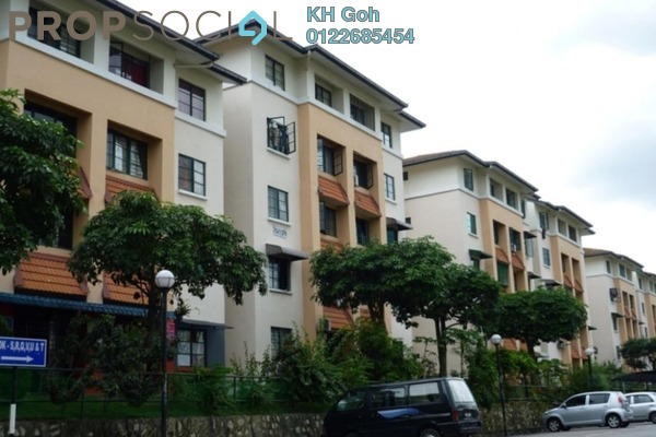 For Sale Apartment at SD Apartment II, Bandar Sri Damansara Freehold Semi Furnished 3R/1B 220k