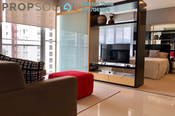For Rent Condominium at VERVE Suites, Mont Kiara Freehold Fully Furnished 1R/1B 2.8k