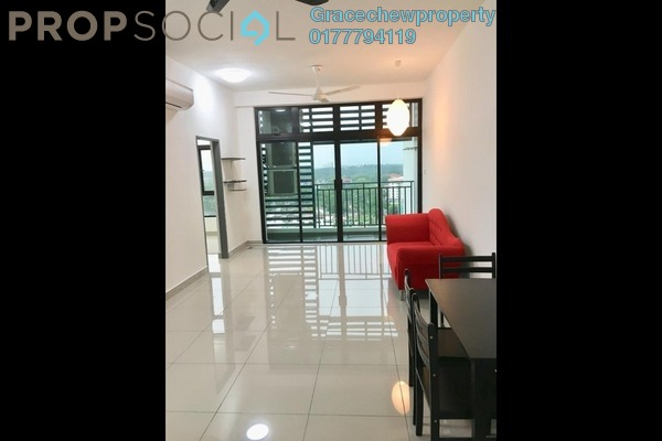 For Rent Apartment at Citywoods, Johor Bahru Freehold Semi Furnished 2R/2B 1.68k
