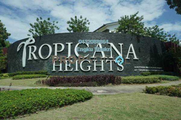 For Rent Terrace at Parkfield Residences @ Tropicana Heights, Kajang Freehold Unfurnished 3R/4B 1.65k