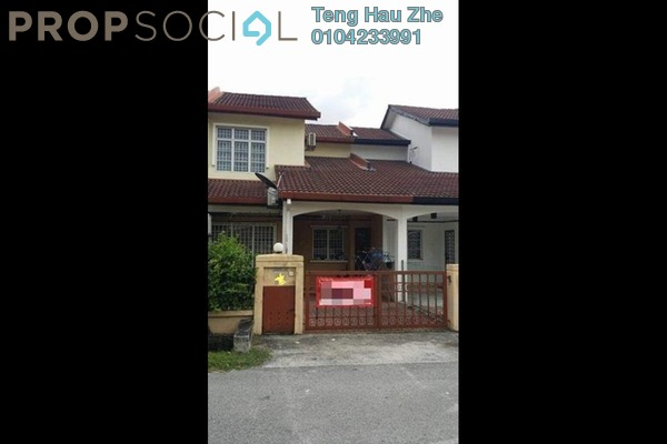 For Sale Terrace at Nafiri, Bandar Bukit Raja Freehold Fully Furnished 3R/2B 445k