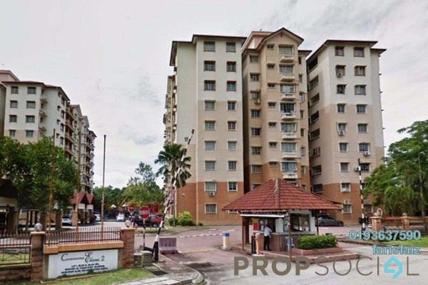 For Rent Condominium at Elaeis 2, Bukit Jelutong Freehold Semi Furnished 3R/2B 1.35k