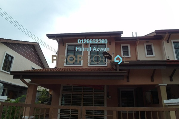 For Sale Terrace at Ampang Saujana, Ampang Leasehold Semi Furnished 4R/3B 840k