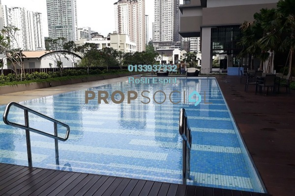For Rent Condominium at Residensi 22, Mont Kiara Freehold Fully Furnished 3R/3B 8k