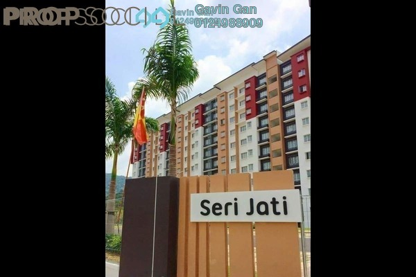For Rent Apartment at Seri Jati Apartment, Setia Alam Freehold Semi Furnished 3R/2B 850translationmissing:en.pricing.unit