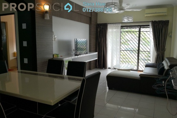 For Rent Apartment at Pan Vista, Bandar Baru Permas Jaya Freehold Fully Furnished 3R/2B 1.6千
