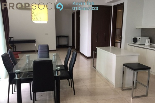 For Sale Condominium at Hampshire Residences, KLCC Freehold Semi Furnished 3R/3B 2m