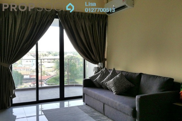 For Rent Condominium at Country Garden Danga Bay, Danga Bay Freehold Fully Furnished 2R/2B 1.7k