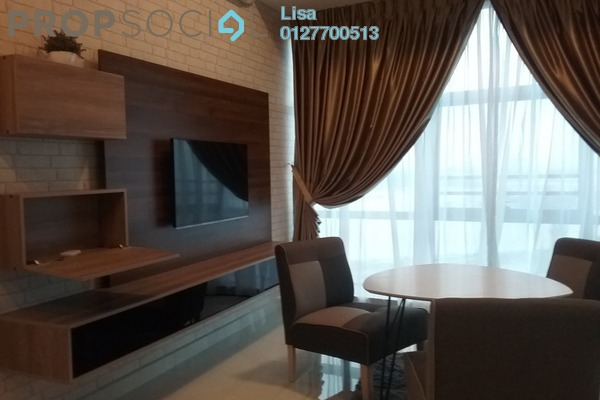For Rent SoHo/Studio at Country Garden Danga Bay, Danga Bay Freehold Fully Furnished 1R/1B 1.4k