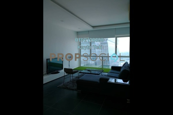 For Rent Condominium at Suasana Sentral Loft, KL Sentral Freehold Fully Furnished 3R/3B 4.6k